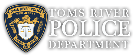Toms River Police Department Sticky Logo Retina